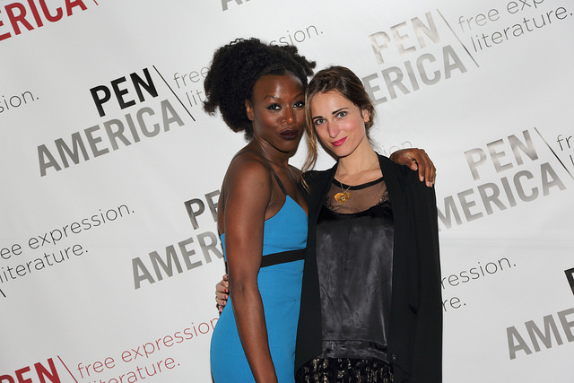 Selasi beim amerikanischen PEN-Zentrum